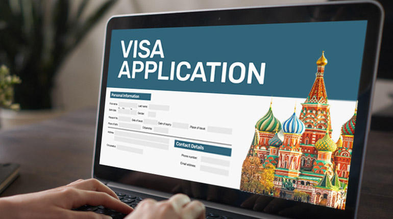 Before traveling, get your Visa to Russia online